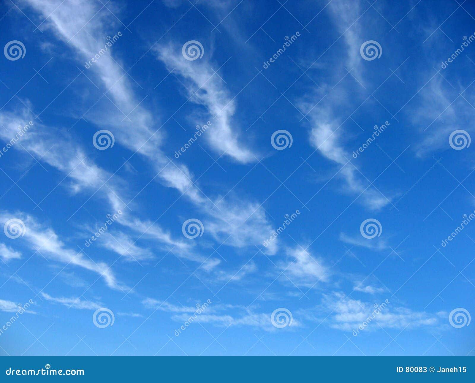 Wispy Clouds Stock Photos - Image: 80083