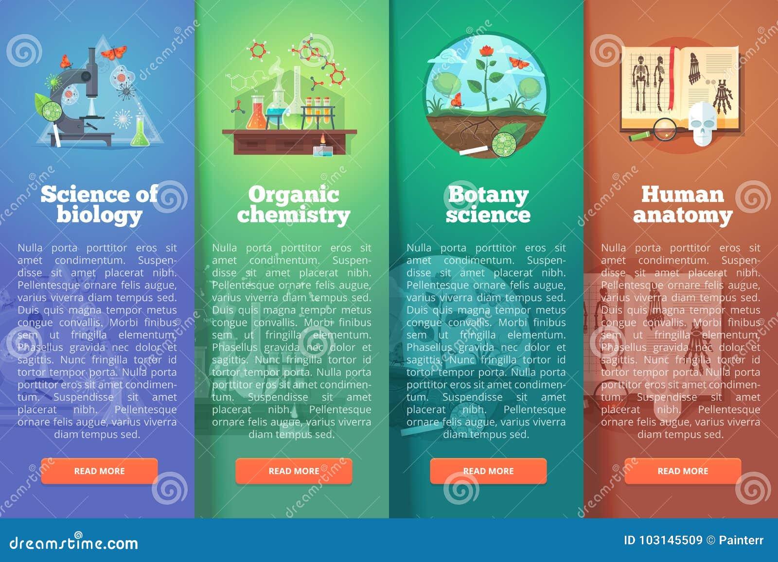 Wissenschaft Der Biologie Organische Chemie Botanikstudie ...