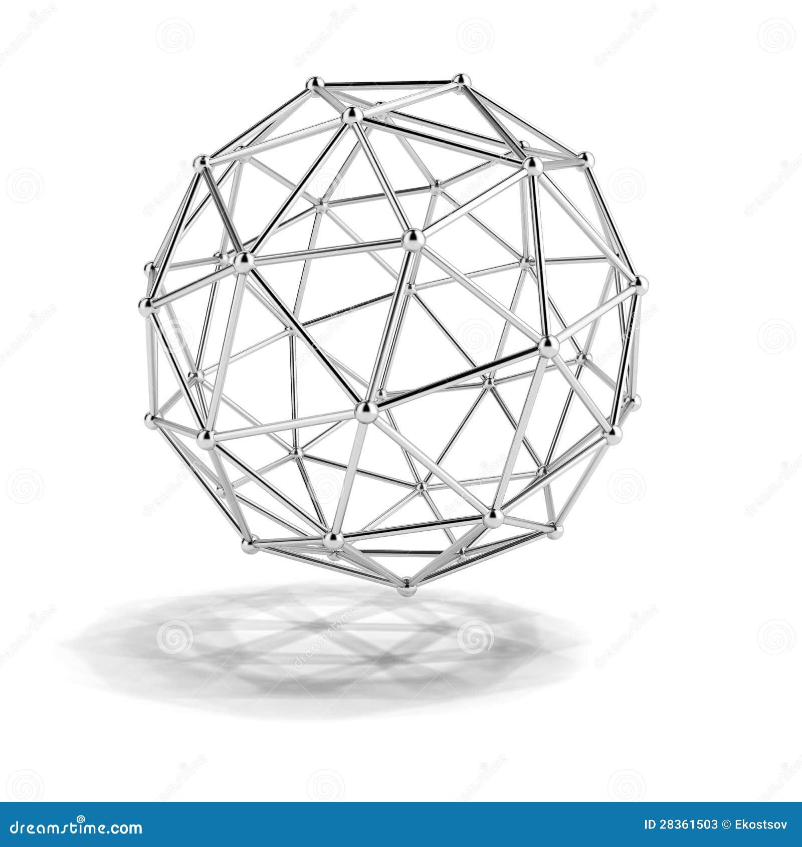 Wissenschaftliches Baumuster des Moleküls