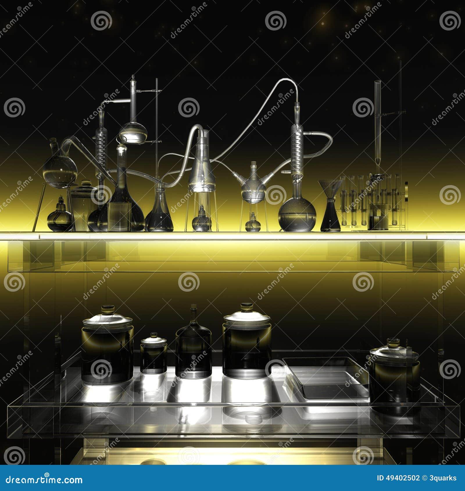 Download Wissenschaftliches Labor stock abbildung. Illustration von drogen - 49402502