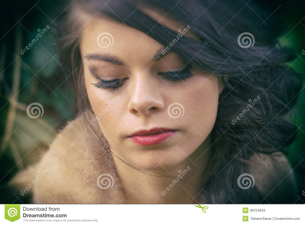 Wistful Woman Stock Photo - Image: 39154633