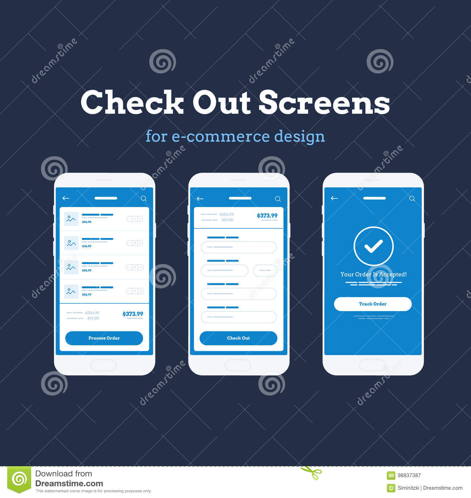 Wiszącej ozdoby App Wireframe Ui zestaw Szczegółowy wireframe dla szybkiego prototyping