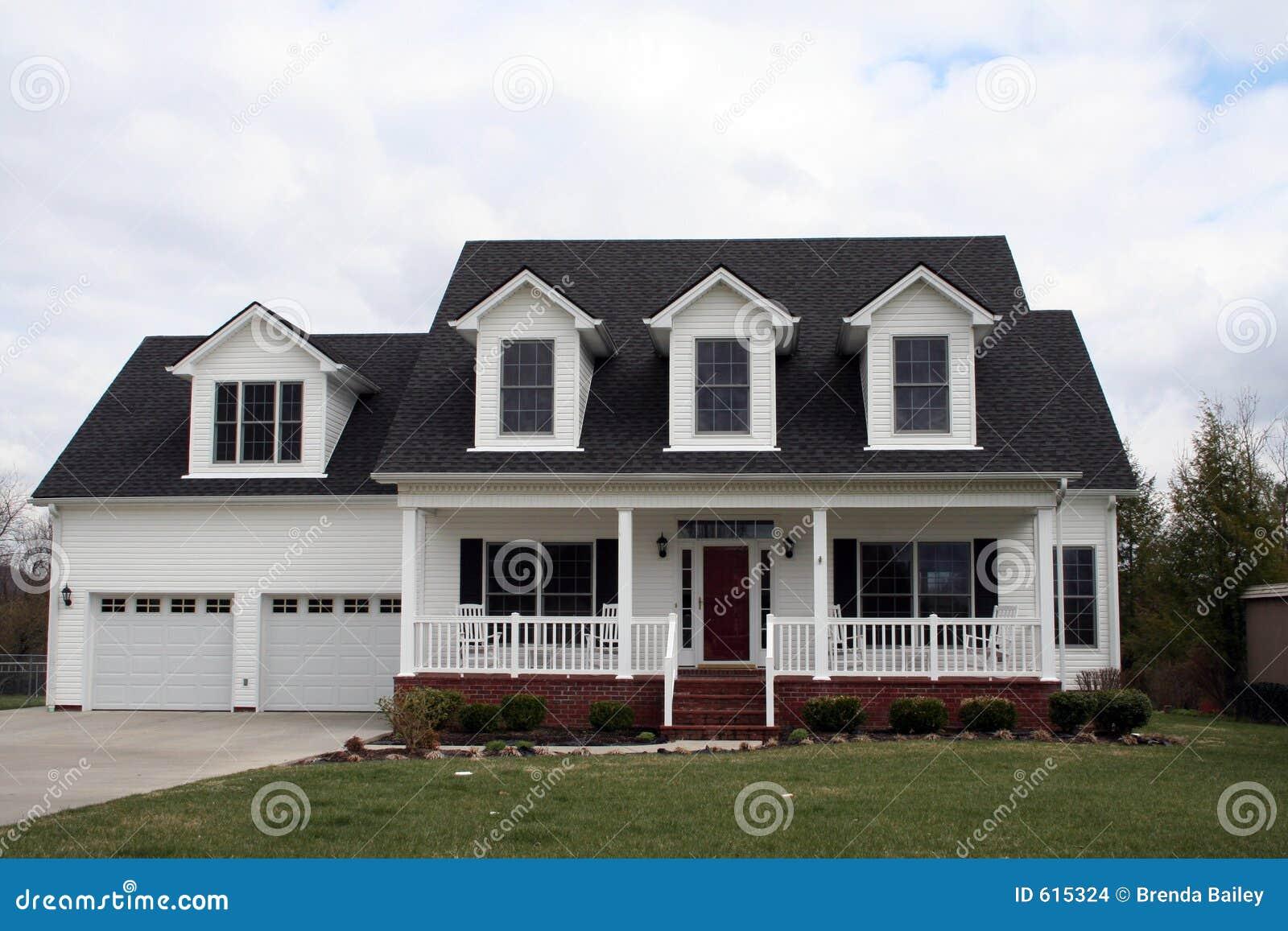 Wit al Amerikaans huis