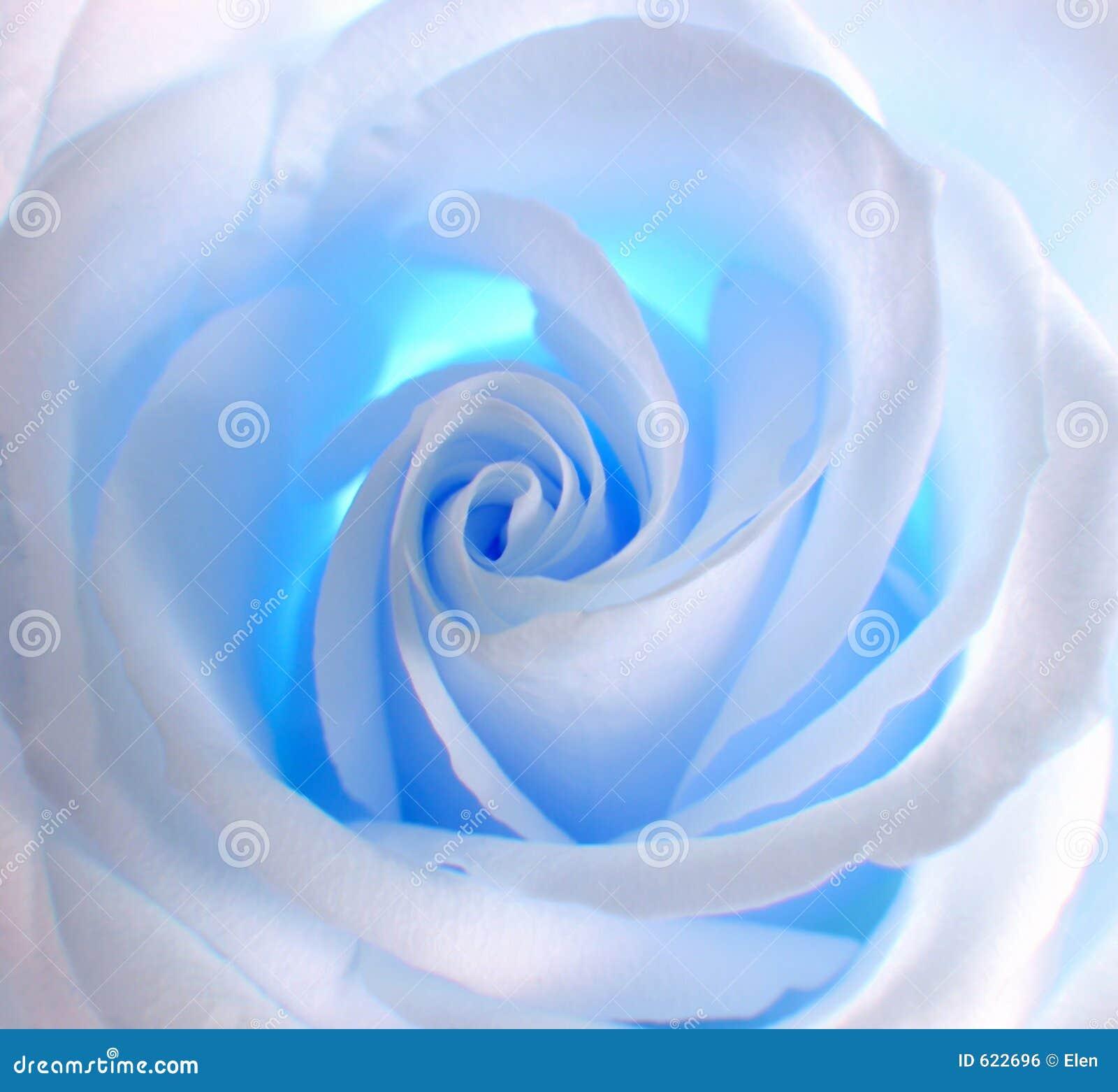 Wit - blauw nam toe
