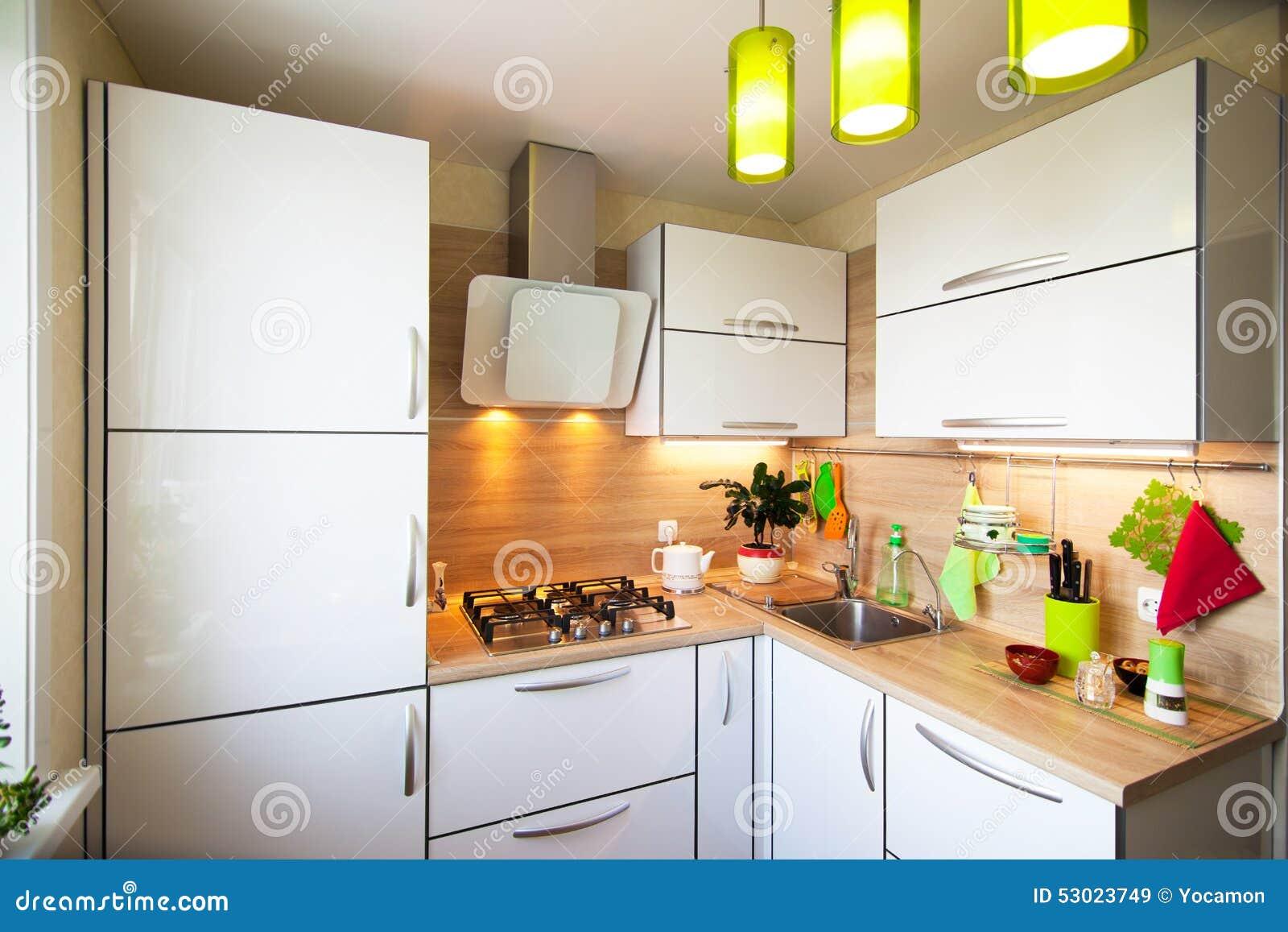 Keuken witte shabby for Kleine keukens fotos