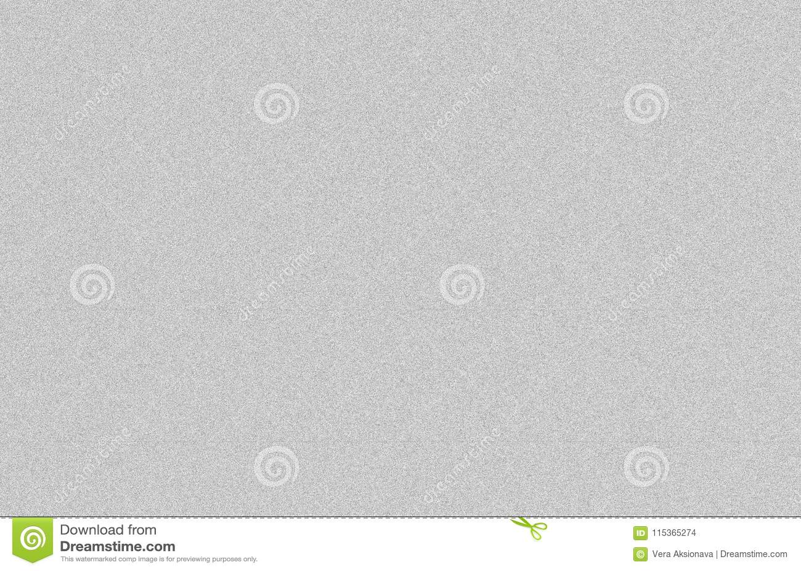 Wit lawaai van TV, grijze achtergrond