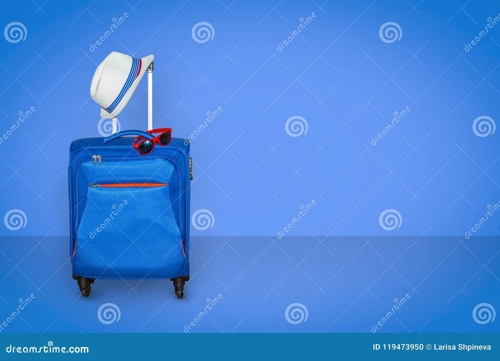 Wit Reuzenrad met glas lichtblauwe cabines tegen het blauw