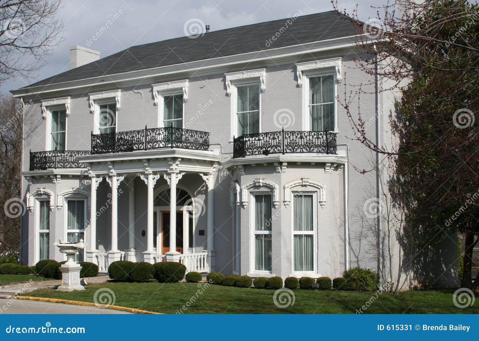 Wit Victoriaans huis