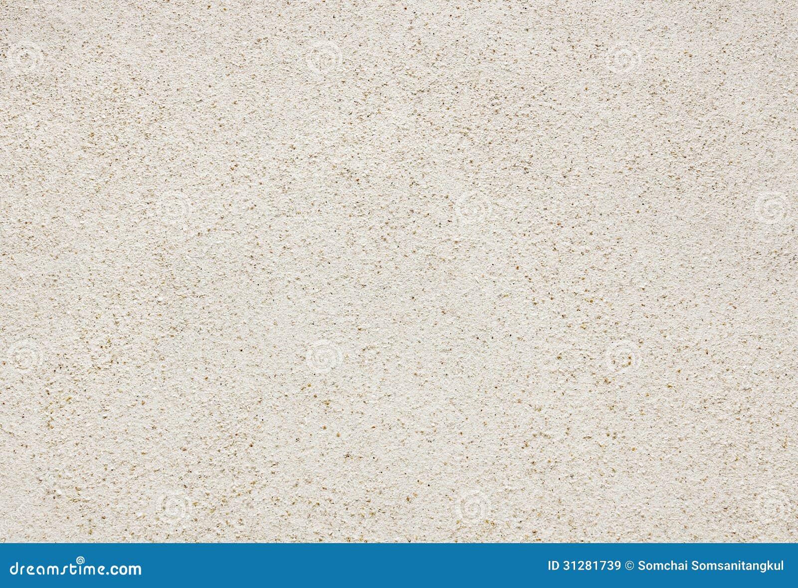 Wit Zandstrand voor achtergrond en textuur