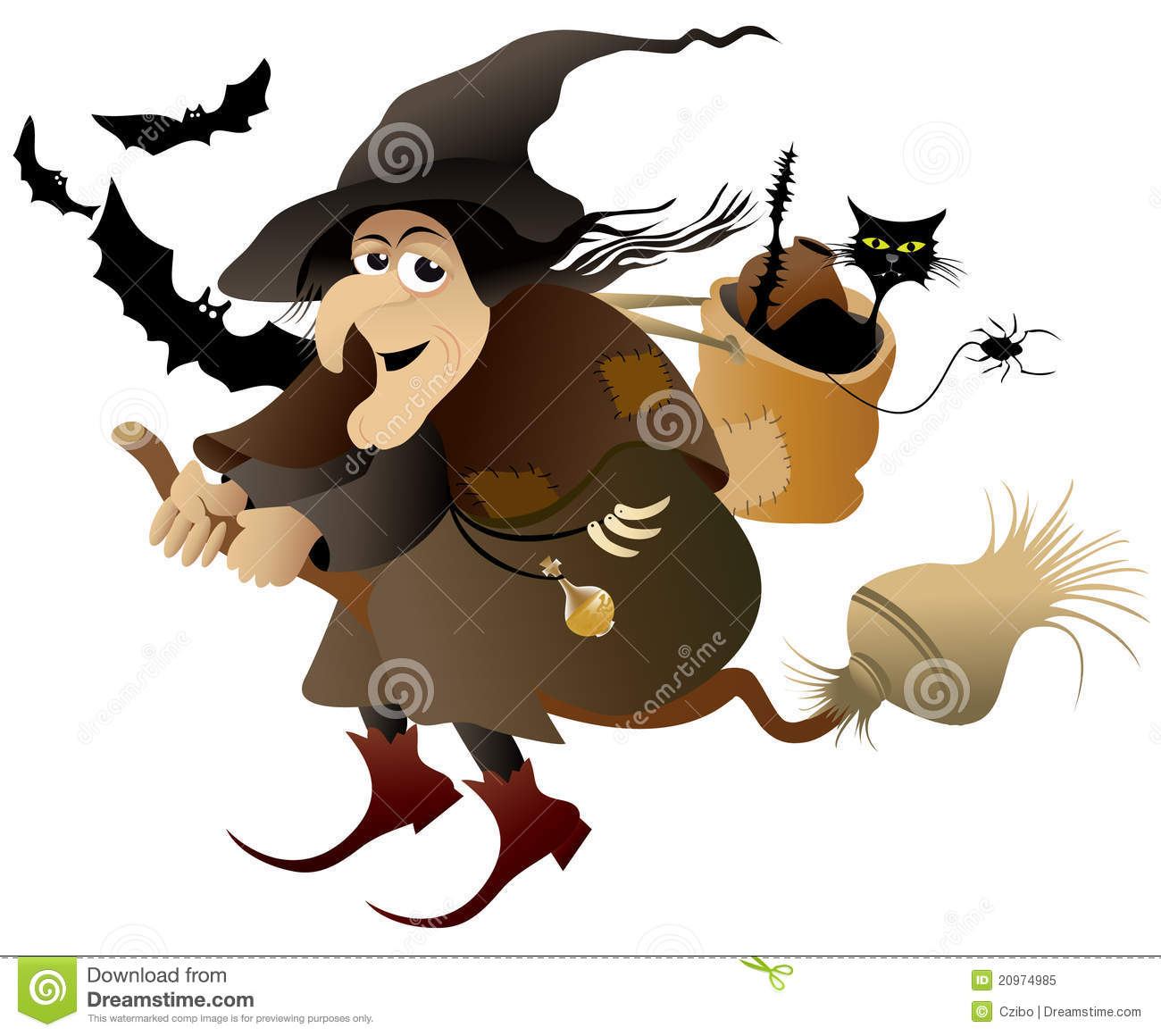 Witch Royalty Free Stock Photo Image 20974985