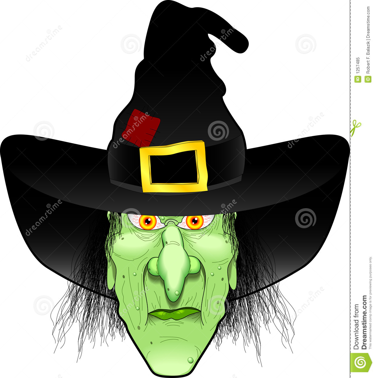 Line Drawing Of Witches Face : Witch face royalty free stock photo image