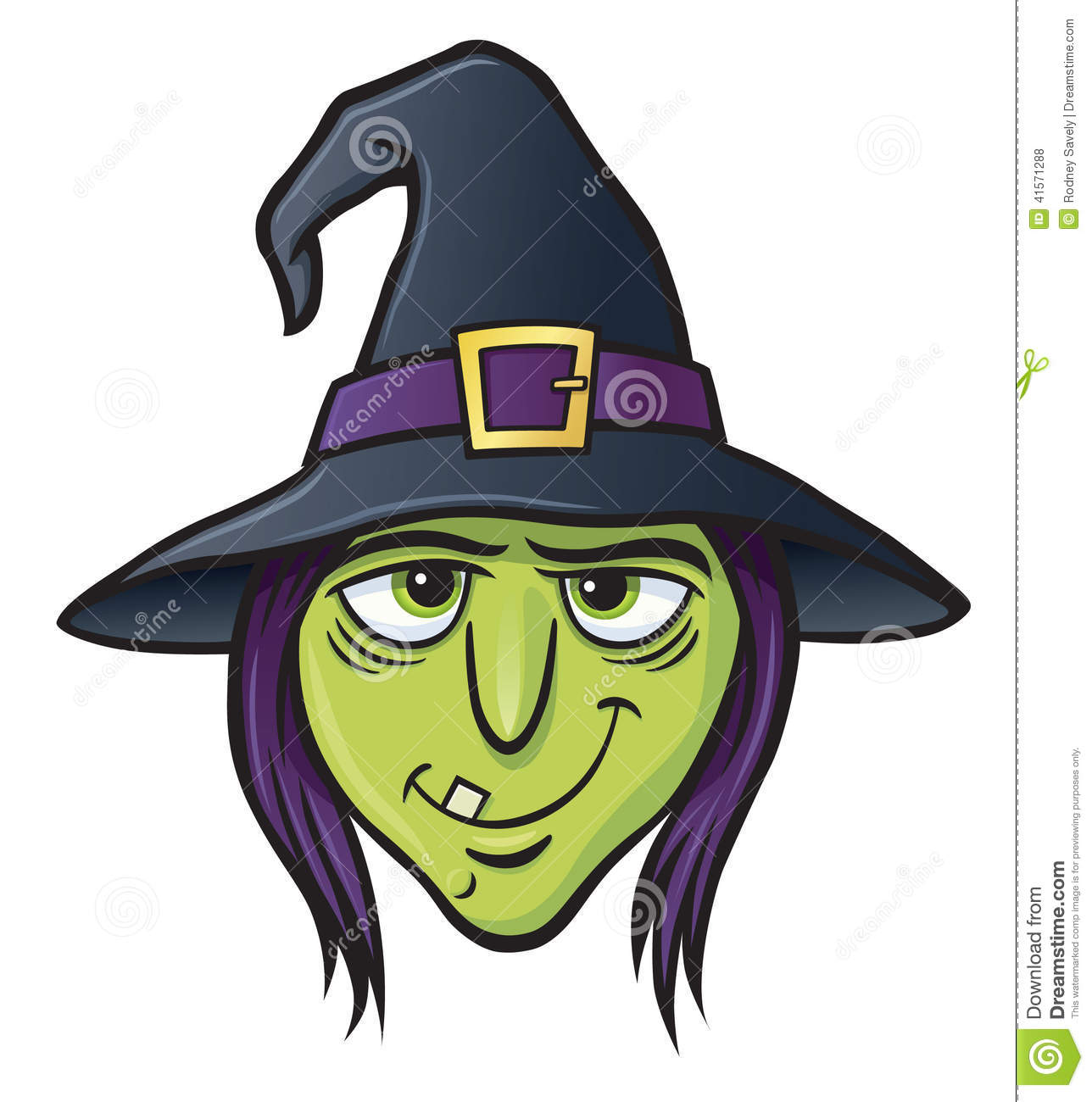 Witch Face Stoc...