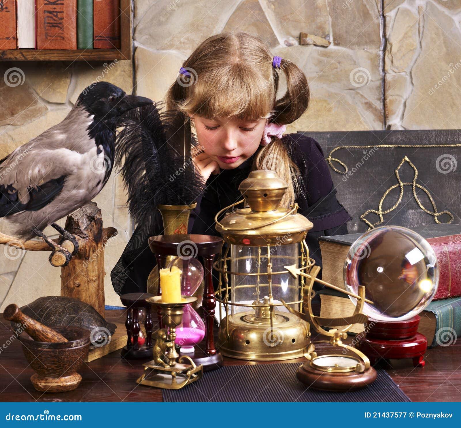 Divination by children