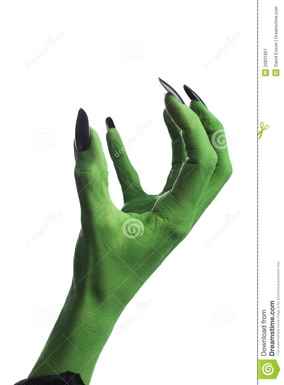 More similar stock images of witch s green hand claw