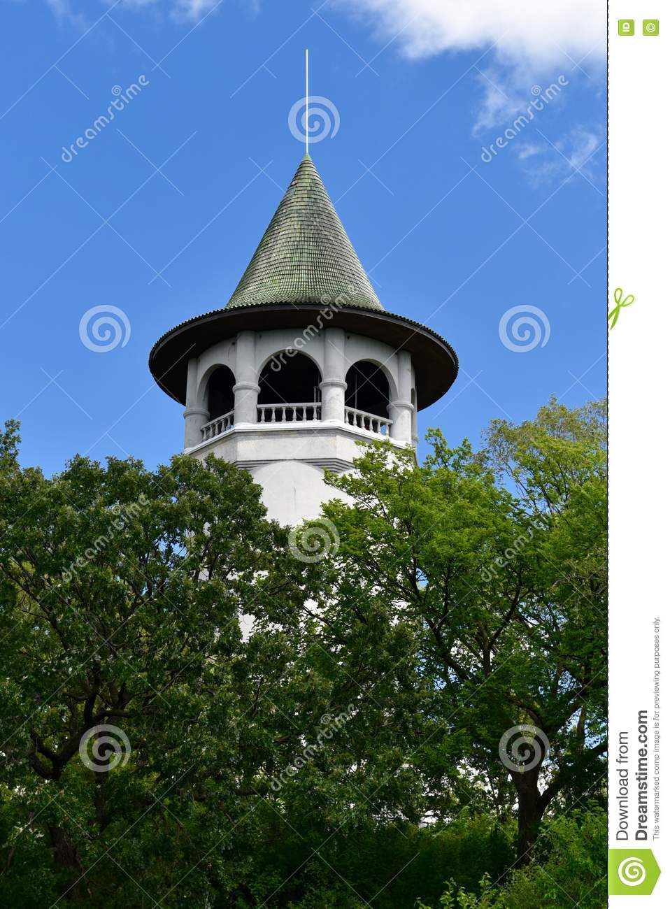 Witch s Hat Water Tower