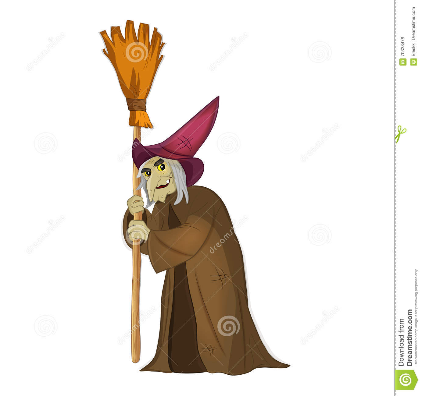 Witch. Stock Witch. Halloween. Enchantress. Stock Vector ...