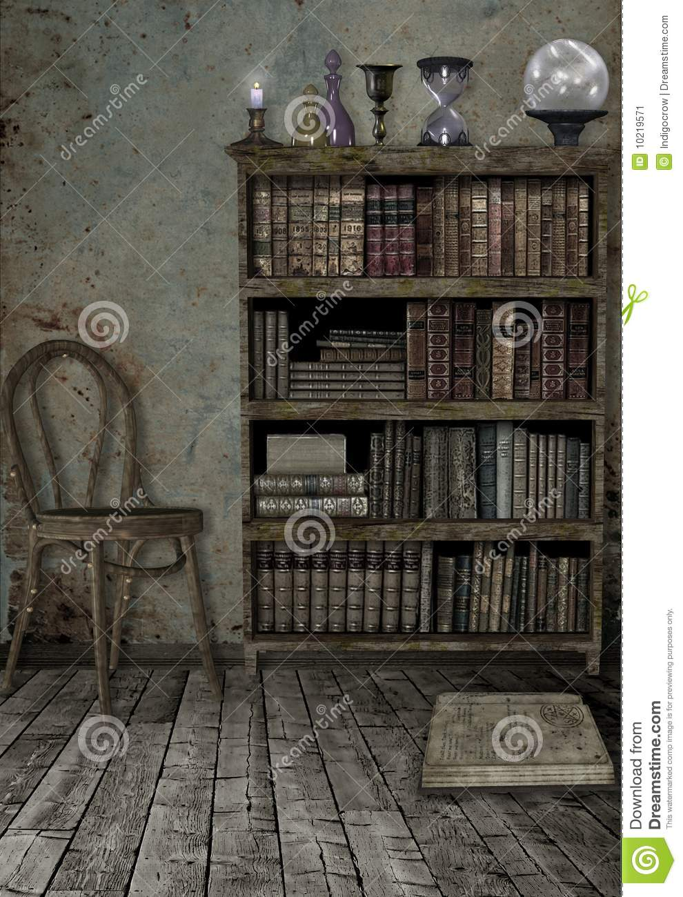 Witches Den Stock Image Image 10219571
