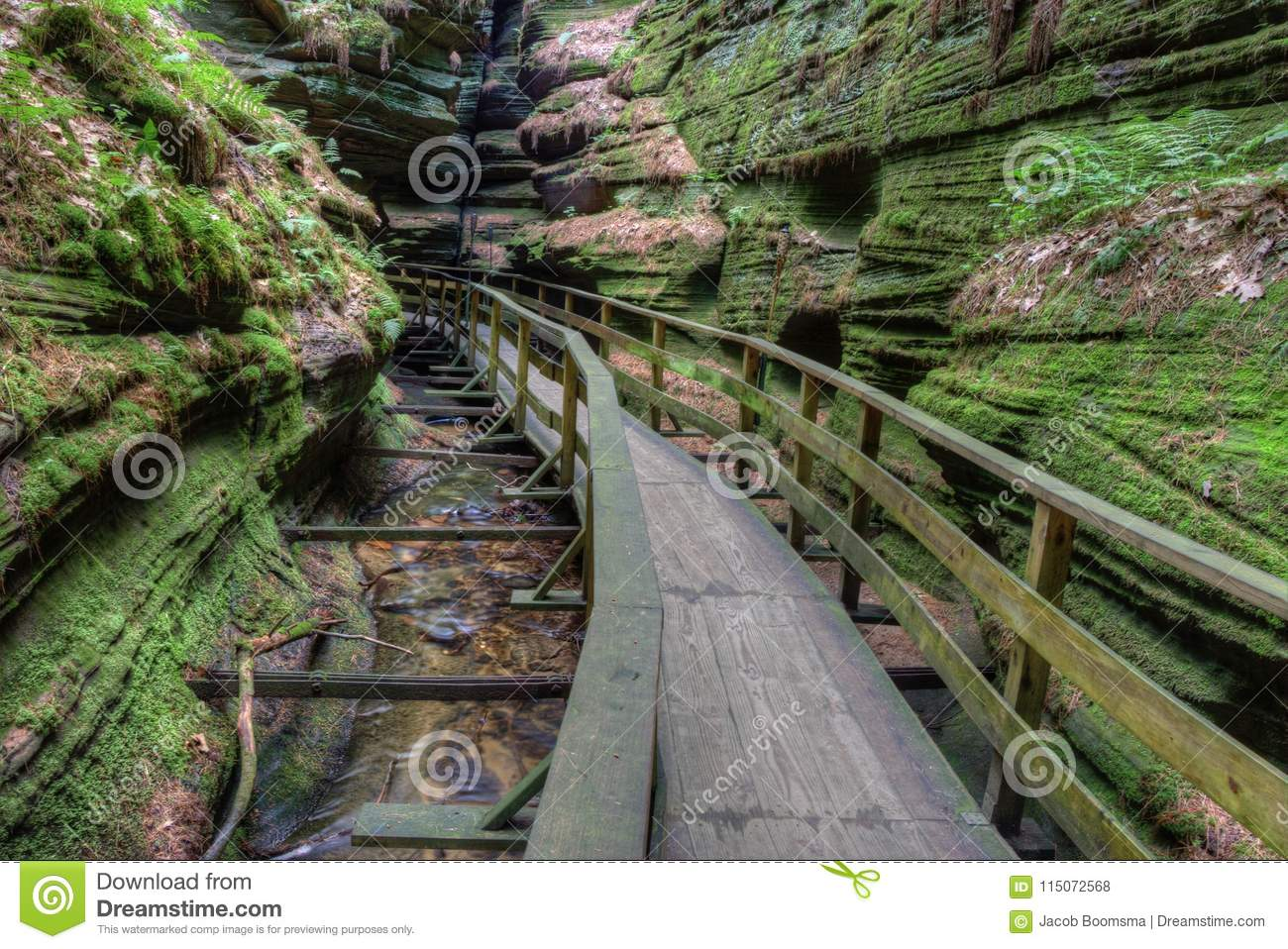 Witches Gulch is a hidden Attraction in Wisconsin Dells and can
