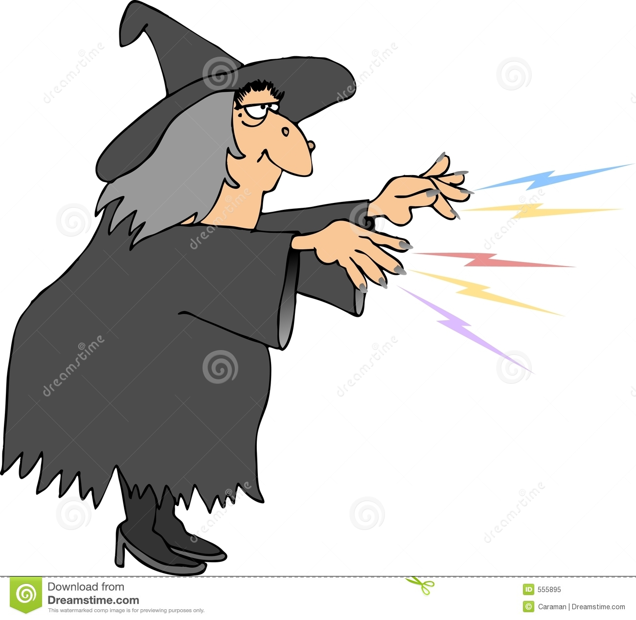 Witches spell stock illustration  Illustration of illustration - 555895