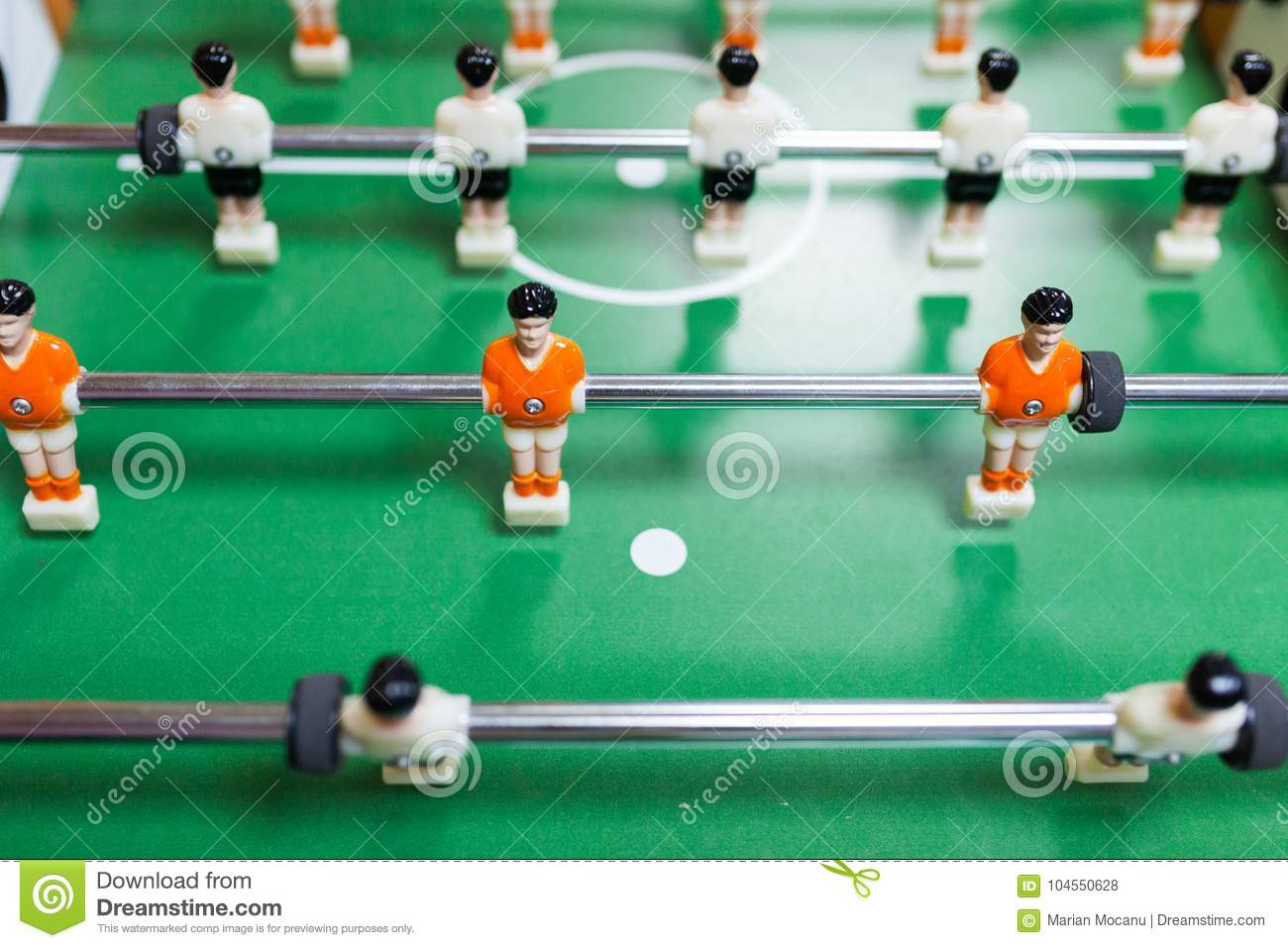 Player in table football