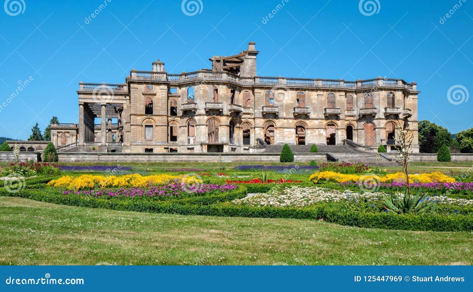Witley-Gericht und formaler Garten, Worcestershire, England