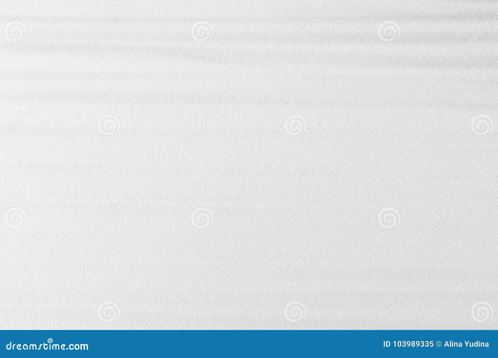 Witte abstracte korrelig met zachte golvenachtergrond