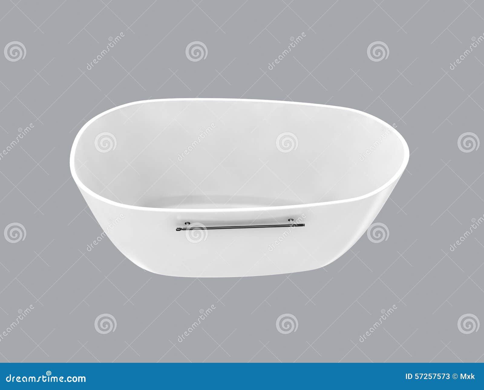 Witte badkuip