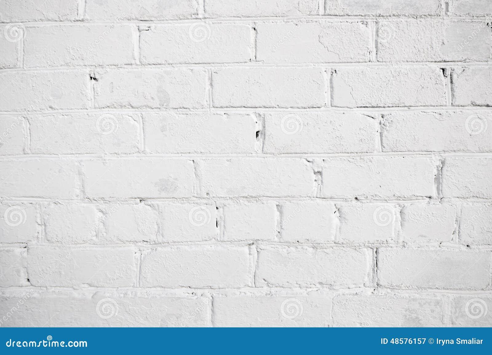 Witte baksteenachtergrond