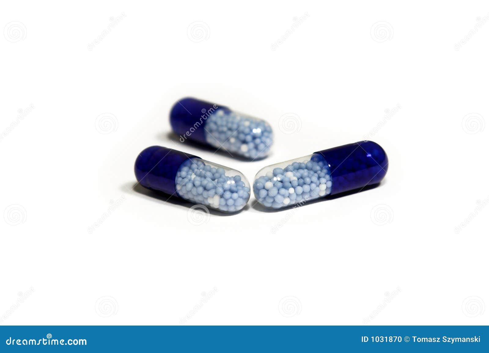 Witte Blauwe Pillen