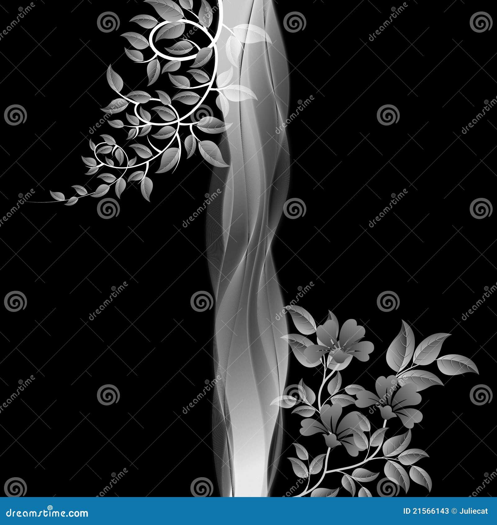 witte achtergrond tekening bloemen - photo #35
