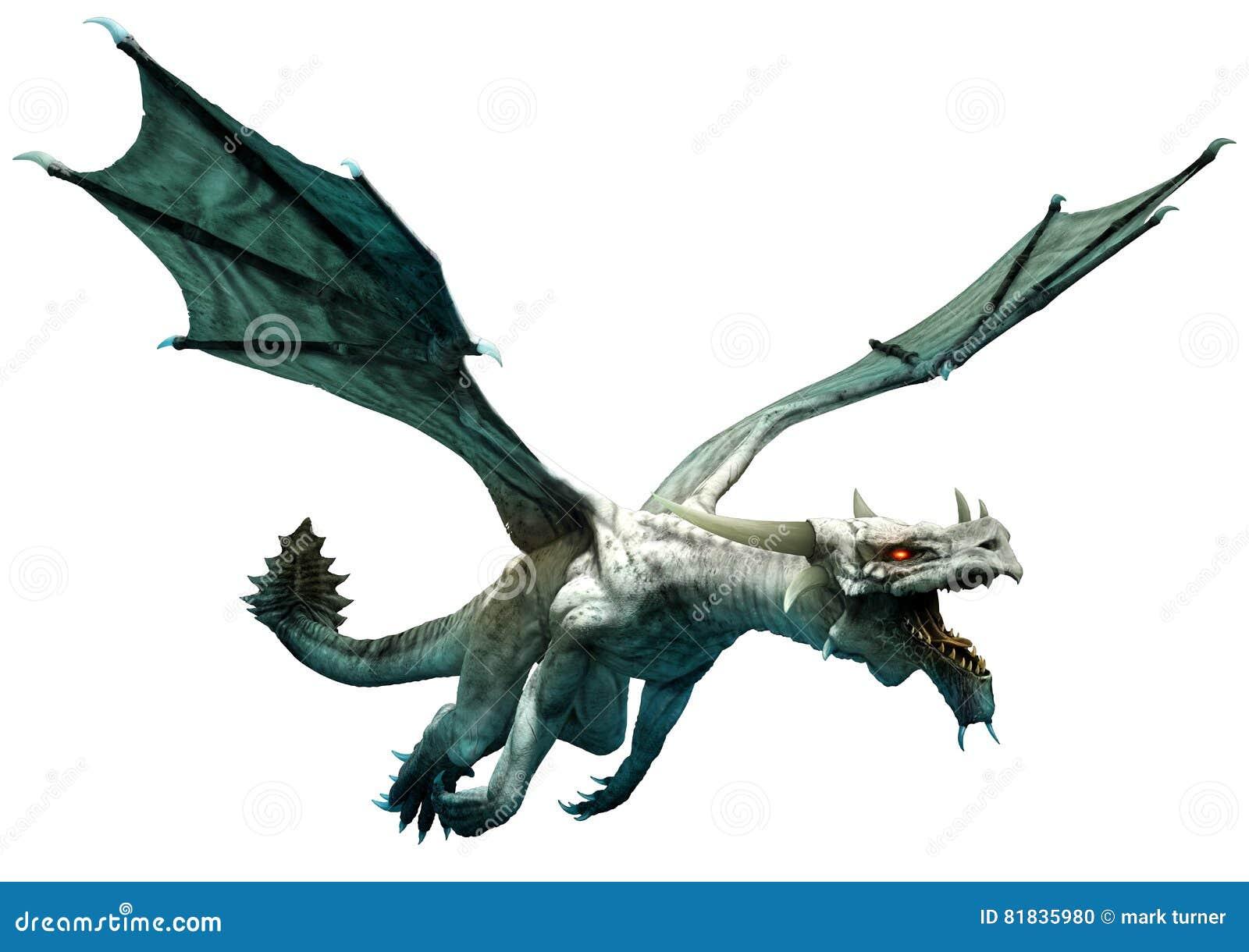 Witte draak