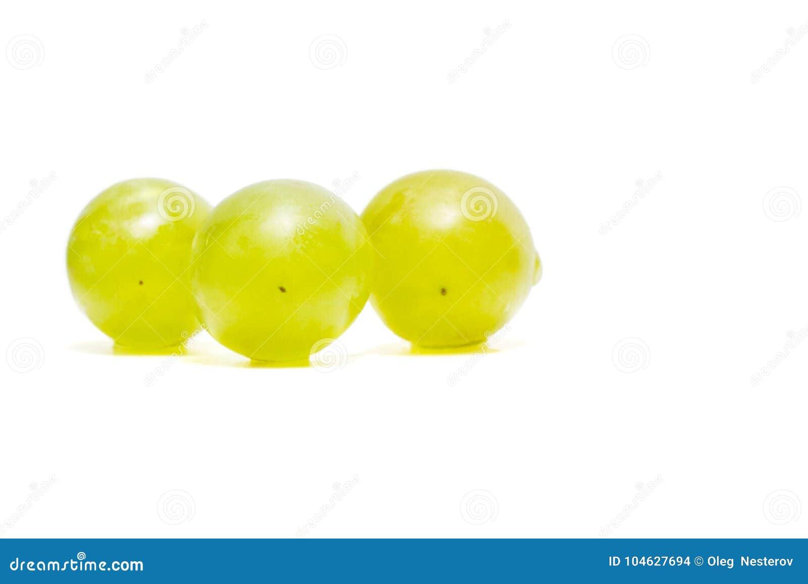 Download Witte Druiven Op Een Witte Achtergrond Stock Foto - Afbeelding bestaande uit clean, drie: 104627694