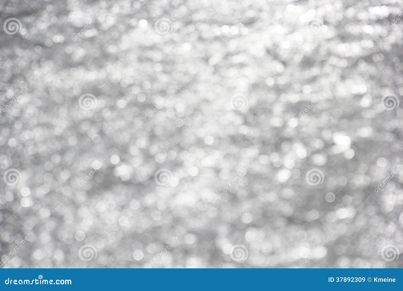 Witte Fonkelingen op Gray Background