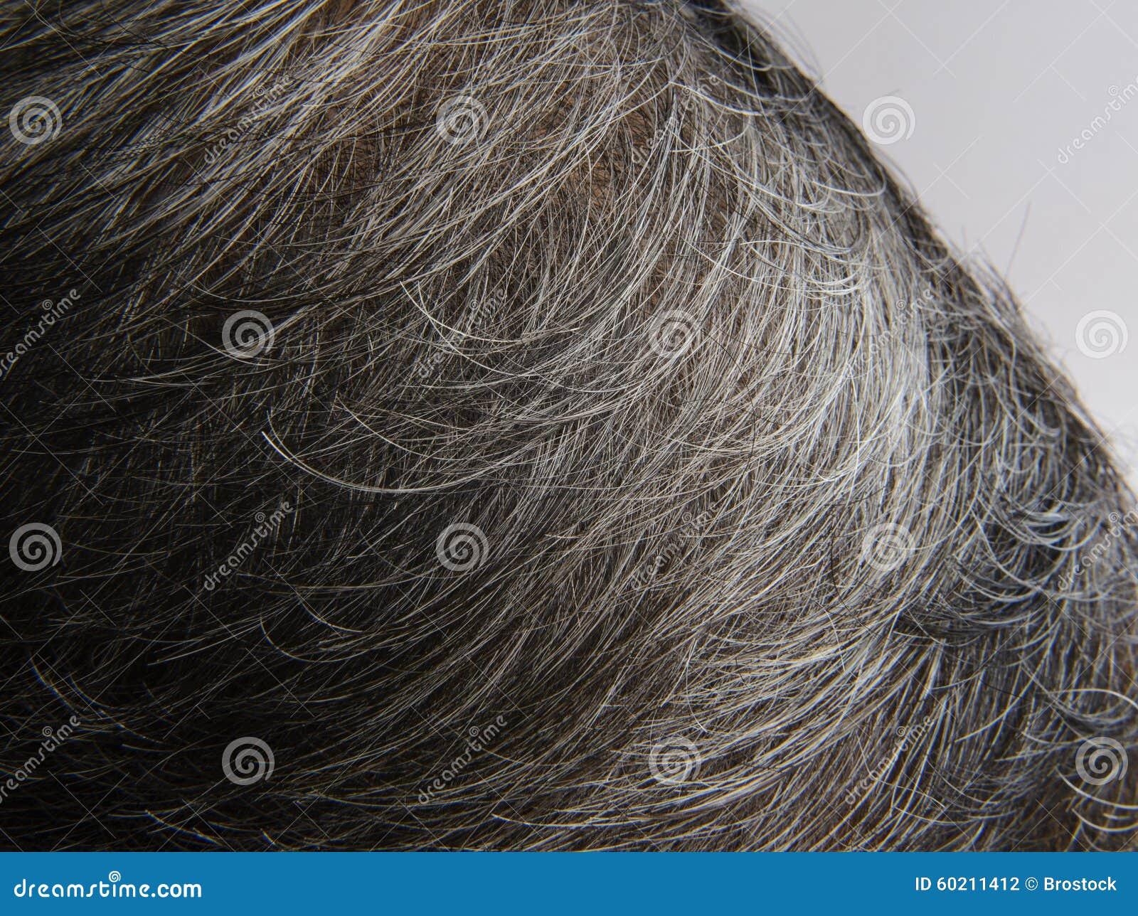 Witte haired van hoofd