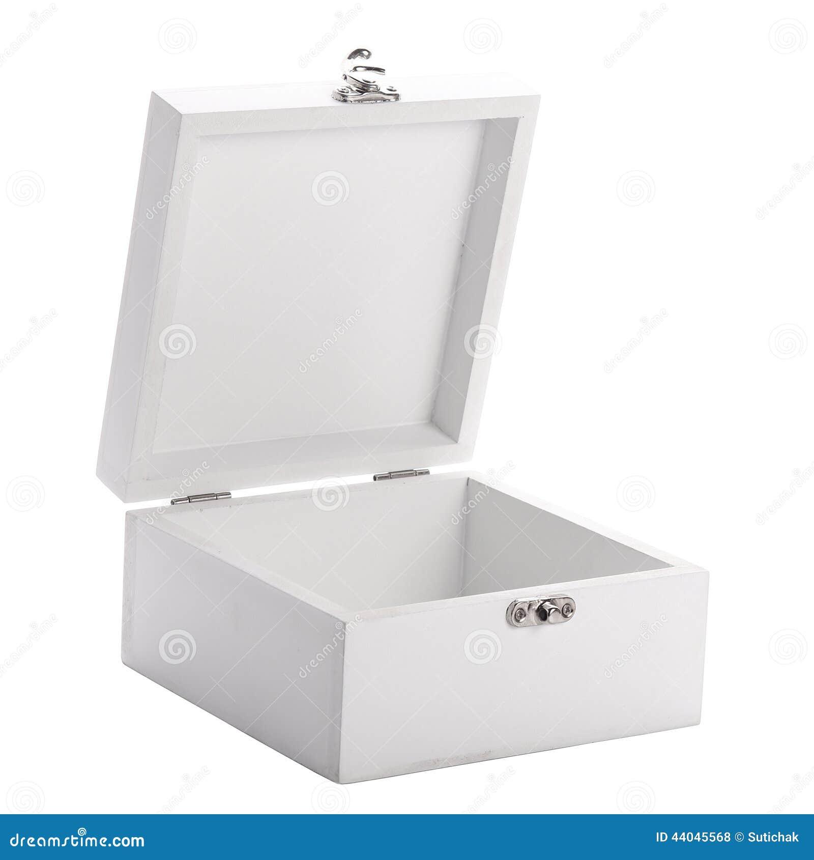 Witte Houten Box.Witte Houten Doos Stock Foto Afbeelding Bestaande Uit Kubus