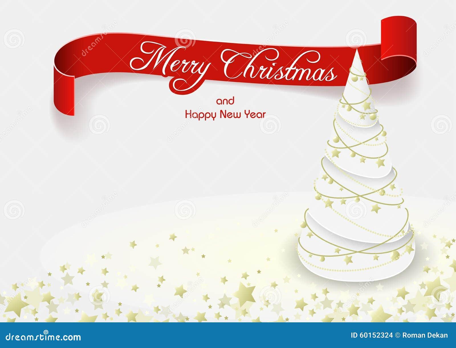 Witte Kerstmisboom