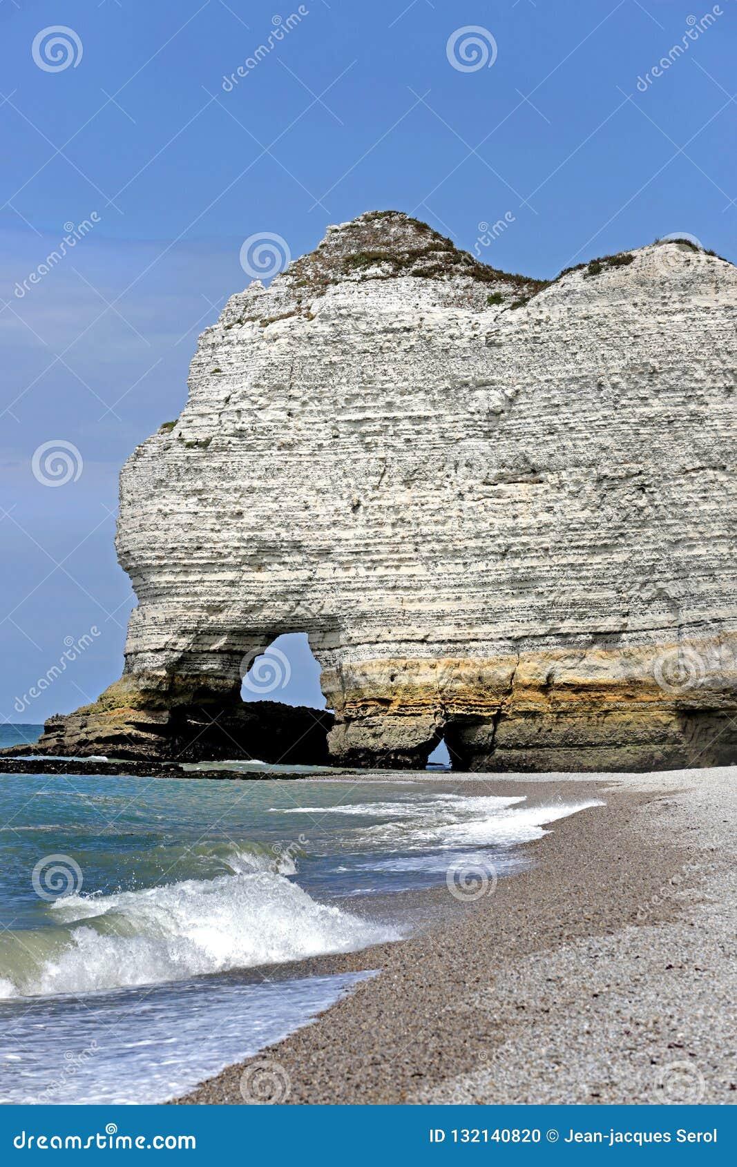Witte Klippen van Etretat, Normandië, Frankrijk
