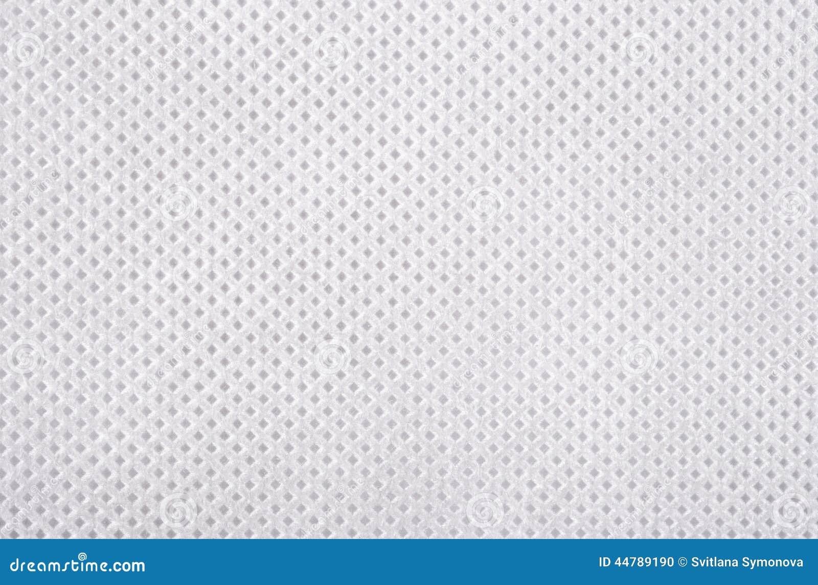 Witte niet-geweven stoffentextuur