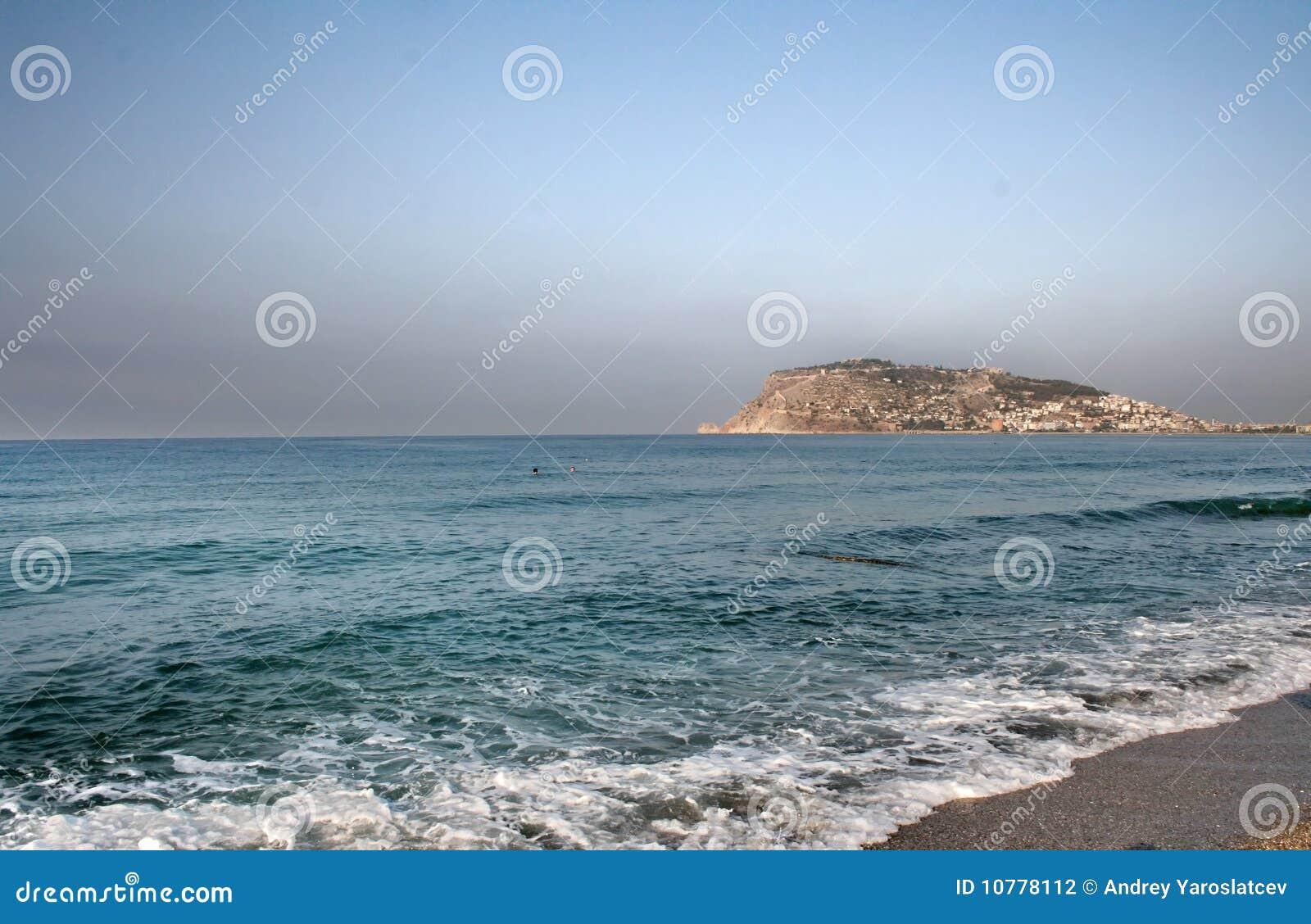 Witte overzees