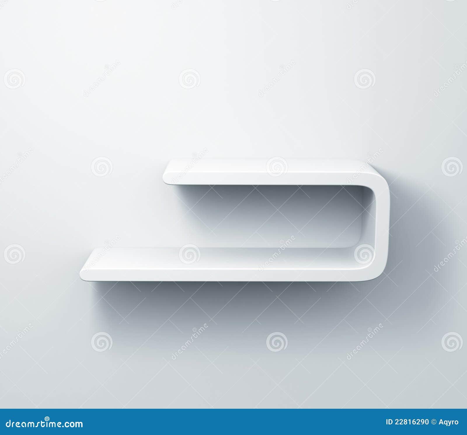 Witte Planken Aan De Muur.Witte Planken Op Het Muur 3d Model Stock Illustratie Illustratie