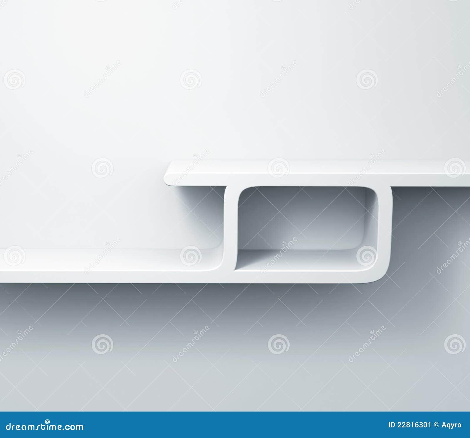 Witte Planken Op Het Muur 3d Model Stock Afbeelding   Afbeelding  22816301