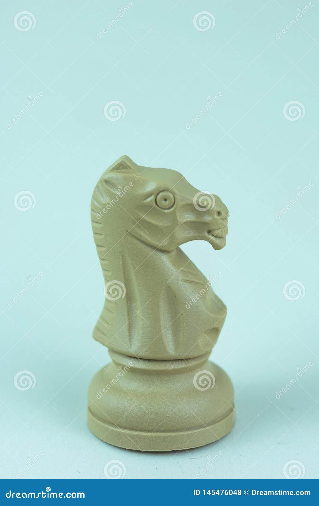 Witte ridder van schaakraad