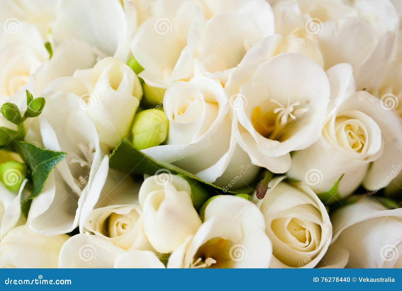 Witte Rose Bridal Flower Wedding Bouquet