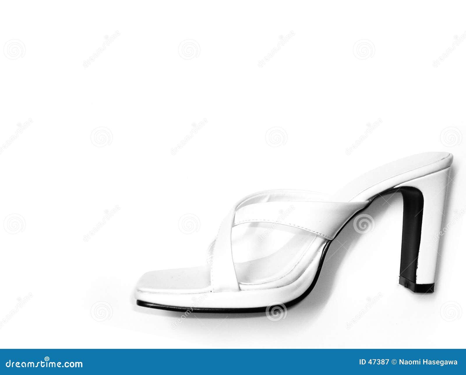 Witte Sandals