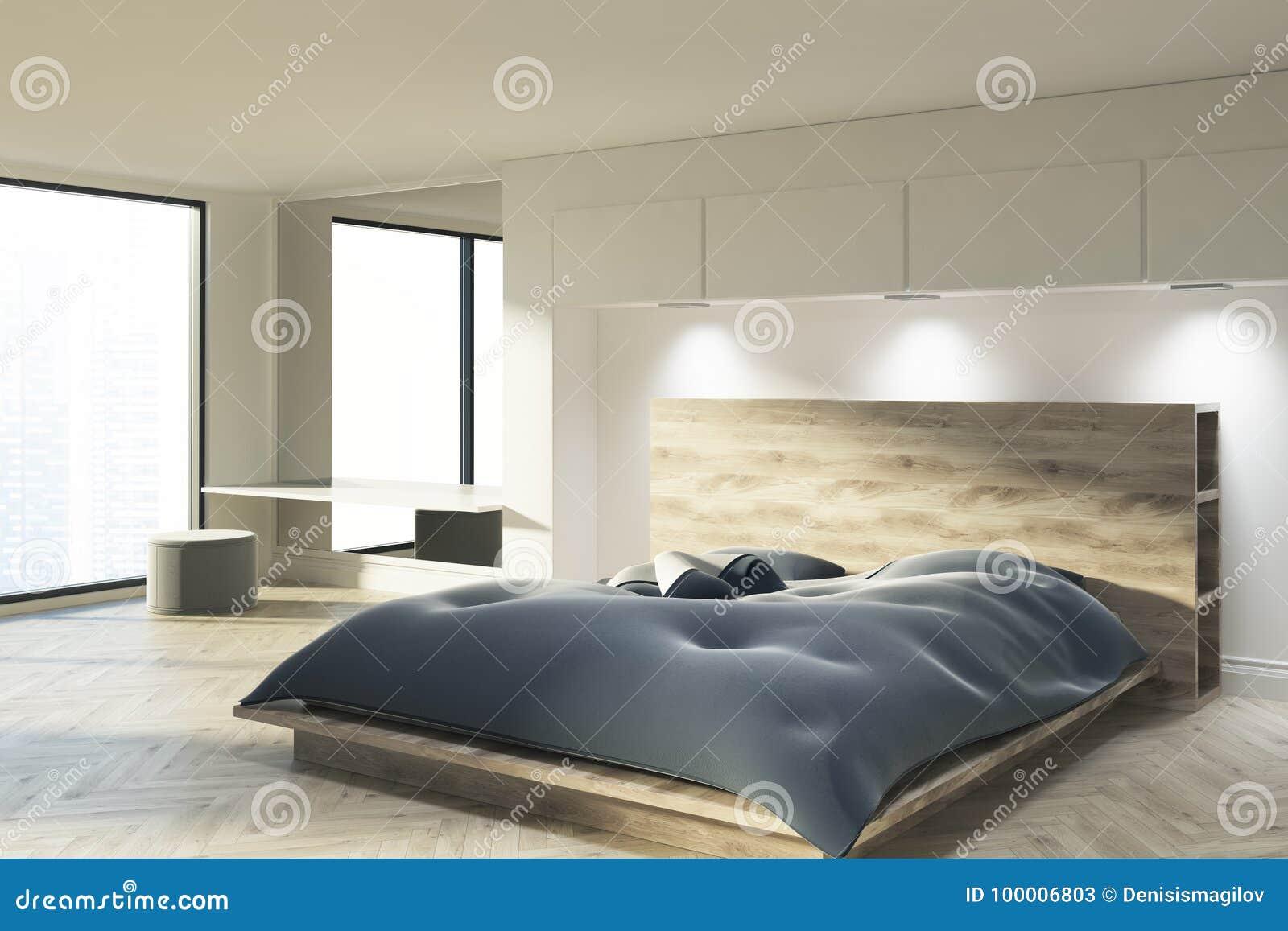 https://thumbs.dreamstime.com/z/witte-slaapkamer-met-een-blauw-bed-100006803.jpg