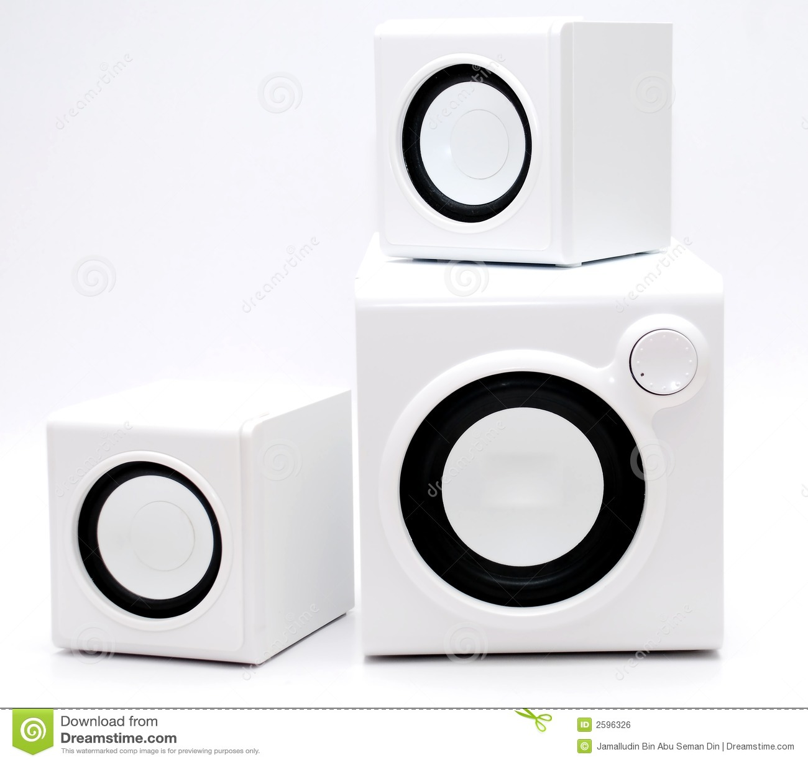 Witte spreker drie