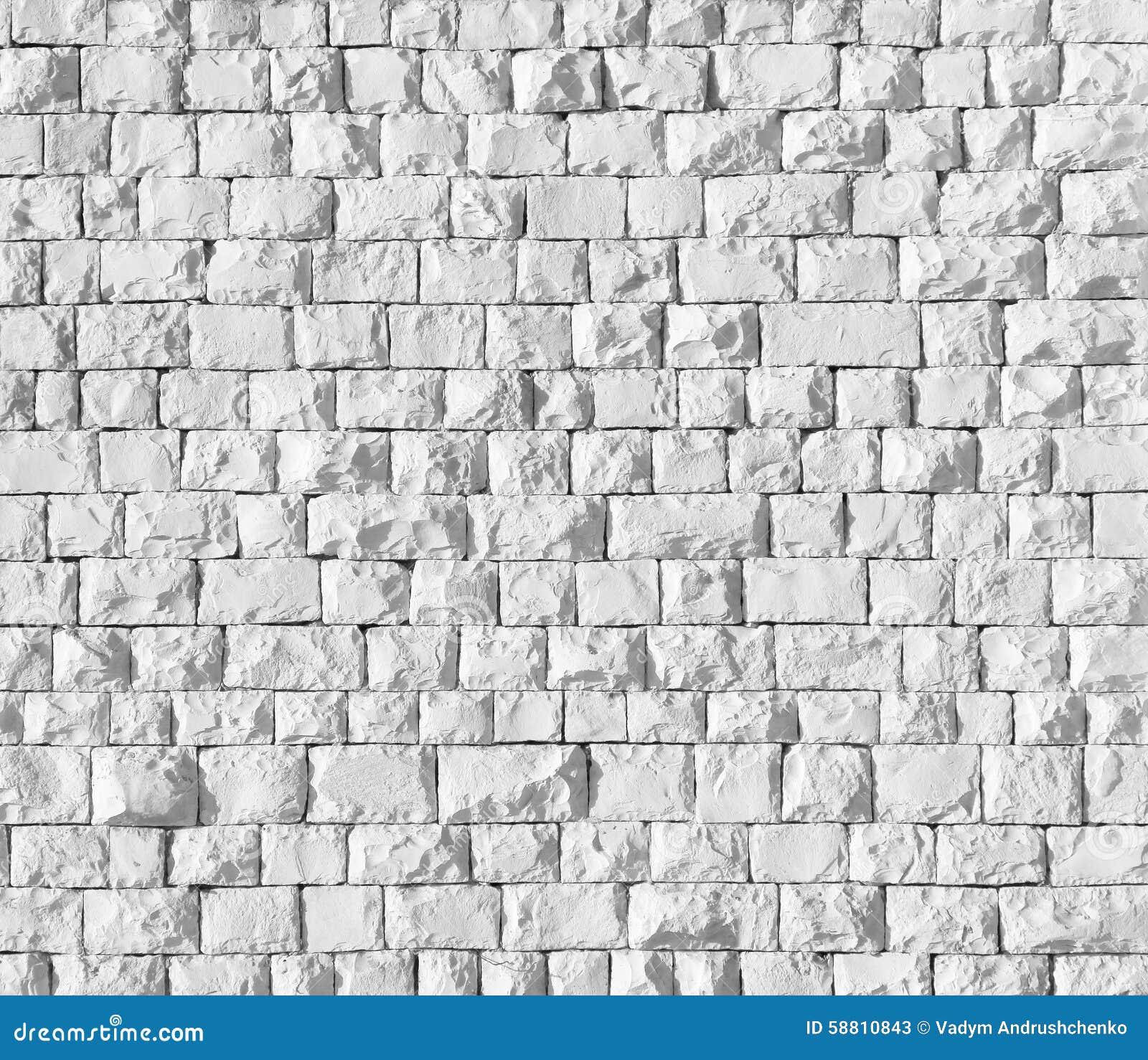 Witte steenachtergrond