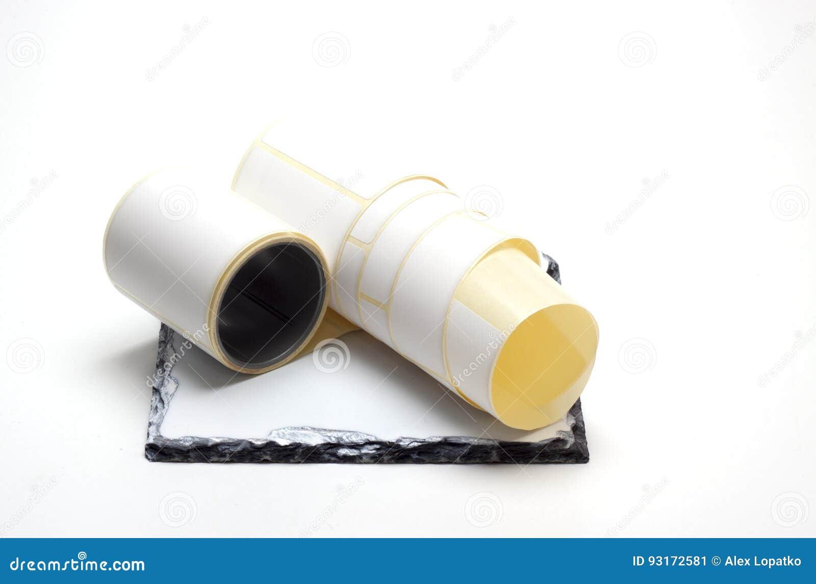 Witte sticker