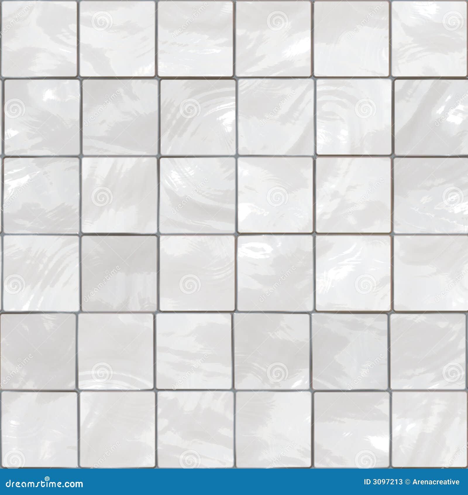Witte tegels stock illustratie. Afbeelding bestaande uit