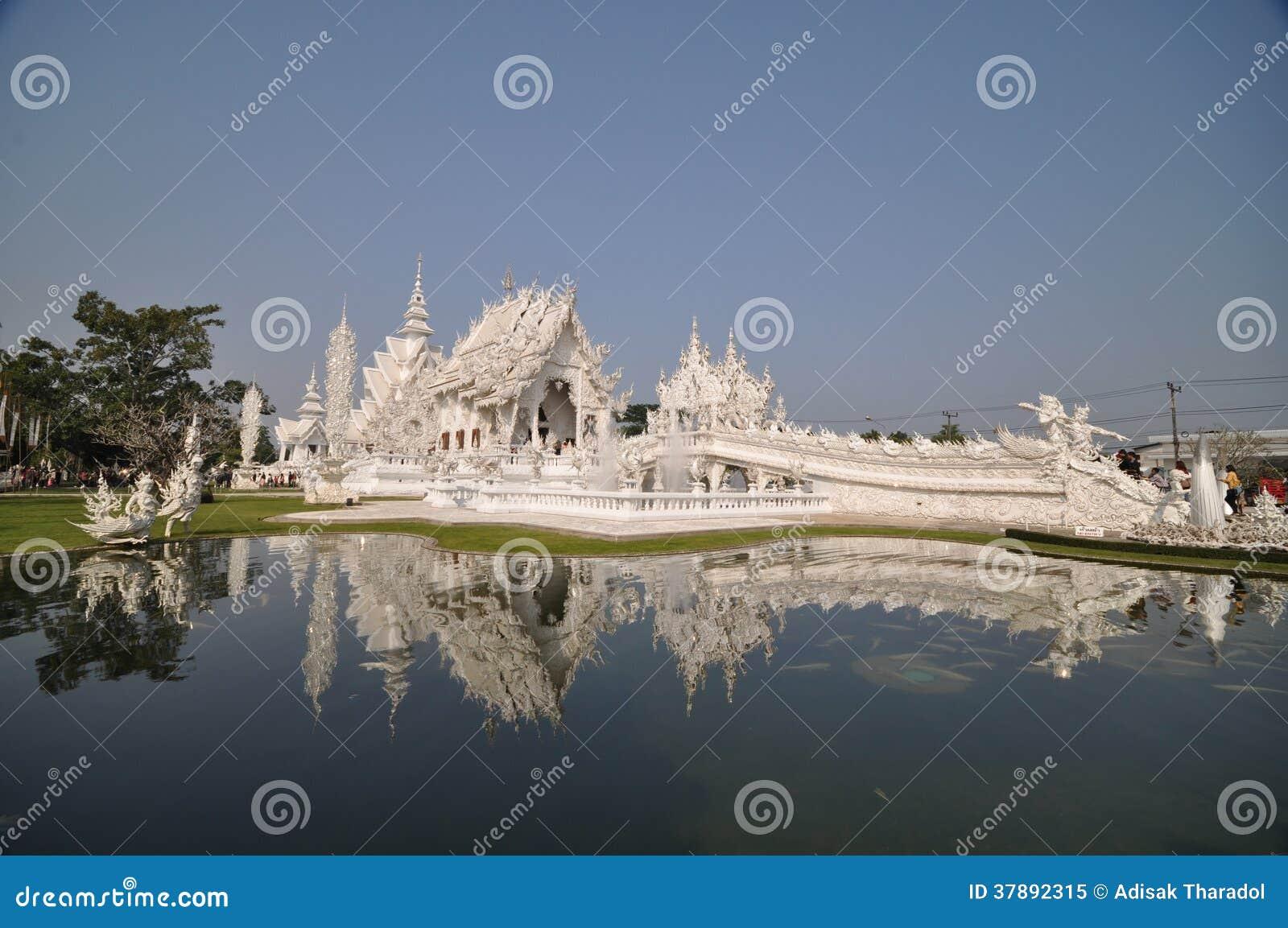 Witte tempel Thailand